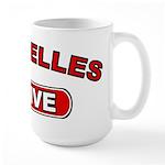 Seychelles Native Large Mug