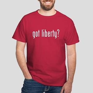 got liberty? Dark T-Shirt