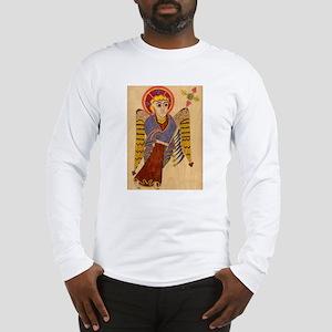 Book of Kells Angel Long Sleeve T-Shirt