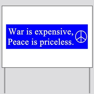 gail's peace gifts Yard Sign
