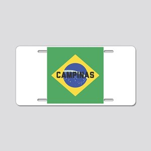 Campinas Aluminum License Plate