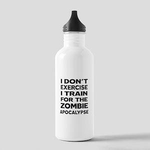 I DON'T EXERCISE Water Bottle