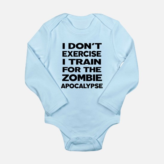 I DON'T EXERCISE Body Suit