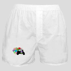 Retro Scooter Boxer Shorts