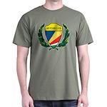 Stylized Seychelles Dark T-Shirt