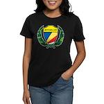 Stylized Seychelles Women's Dark T-Shirt