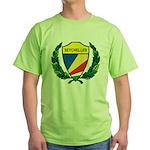 Stylized Seychelles Green T-Shirt