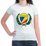 Stylized Seychelles Jr. Ringer T-Shirt