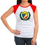 Stylized Seychelles Women's Cap Sleeve T-Shirt