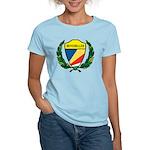 Stylized Seychelles Women's Light T-Shirt