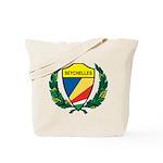 Stylized Seychelles Tote Bag