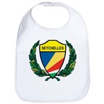 Stylized Seychelles Bib