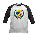 Stylized Seychelles Kids Baseball Jersey