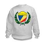 Stylized Seychelles Kids Sweatshirt
