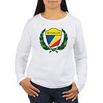 Stylized Seychelles Women's Long Sleeve T-Shirt