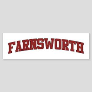 FARNSWORTH Design Bumper Sticker