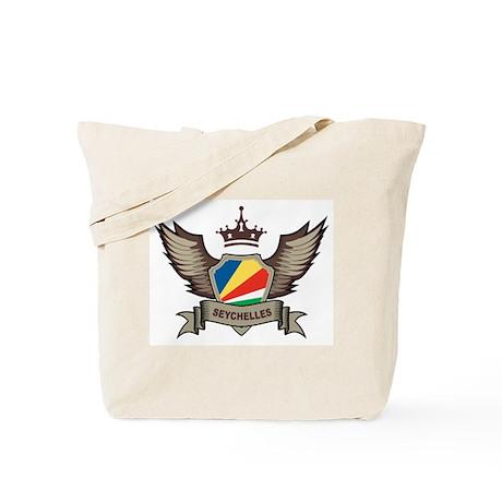 Seychelles Emblem Tote Bag