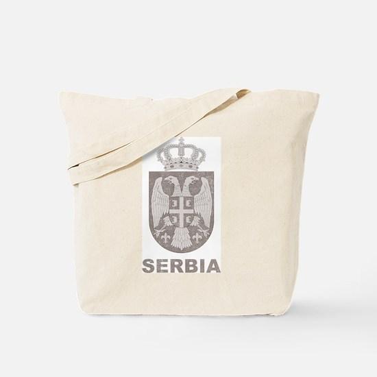 Vintage Serbia Tote Bag