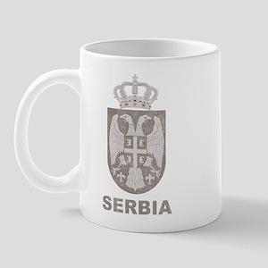 Vintage Serbia Mug