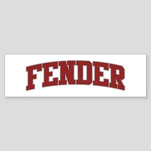 FENDER Design Bumper Sticker