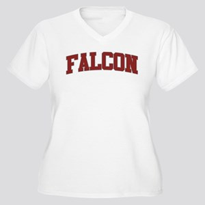 FALCON Design Women's Plus Size V-Neck T-Shirt