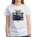 Motorcycles. Plein Air. Mix. Women's T-Shirt