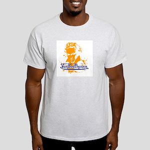 Van Beethoven Ash Grey T-Shirt