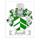 Borsello Family Crest Small Poster