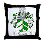 Borsello Family Crest Throw Pillow