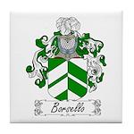Borsello Family Crest Tile Coaster