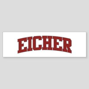 EICHER Design Bumper Sticker