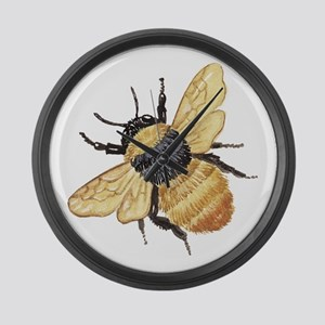 Bumble Bee Large Wall Clock