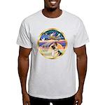 XmasStar/German Shepherd #13B Light T-Shirt