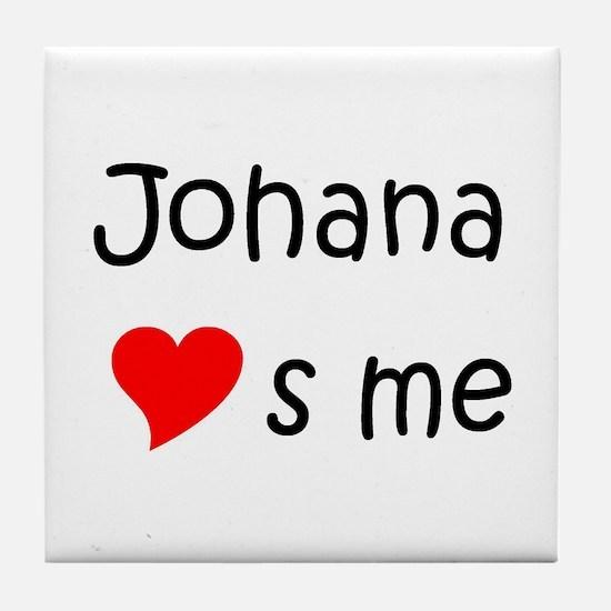Unique Johana Tile Coaster