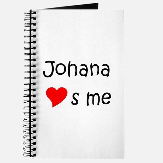 Funny Johana Journal