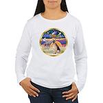 XmasStar/German Shepherd #11 Women's Long Sleeve T