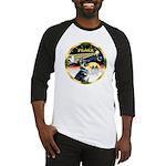 XmasDove/German Shepherd #15 Baseball Jersey
