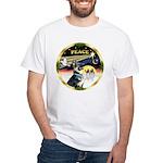 XmasDove/German Shepherd #15 White T-Shirt