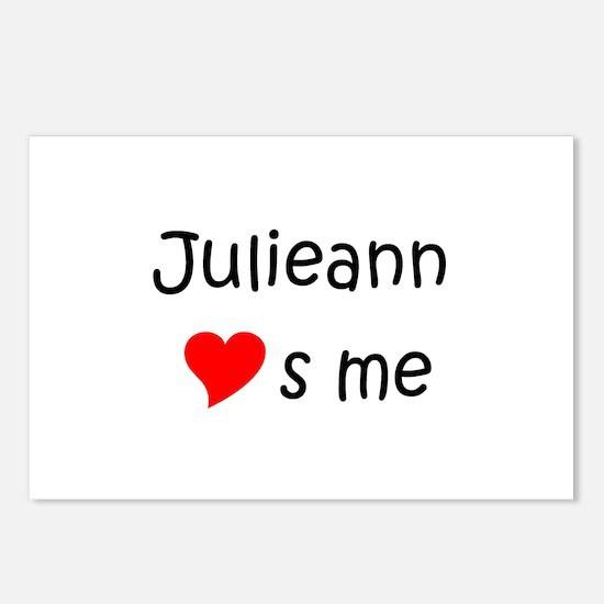 Cool Julieann Postcards (Package of 8)