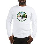 Take Off1/German Shpherd Pup Long Sleeve T-Shirt