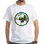 Take Off1/German Shpherd Pup White T-Shirt
