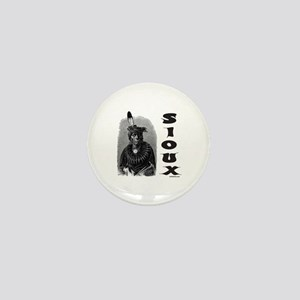 SIOUX INDIAN CHIEF Mini Button