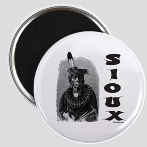 SIOUX INDIAN CHIEF Magnet