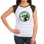 Take Off1/German Shepherd #15 Women's Cap Sleeve T
