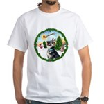 Take Off1/German Shepherd #15 White T-Shirt