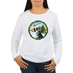 Take Off1/German Shepherd #15 Women's Long Sleeve