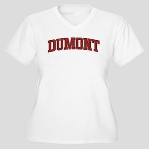 DUMONT Design Women's Plus Size V-Neck T-Shirt
