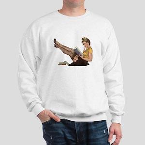 Librarian Girl Sweatshirt