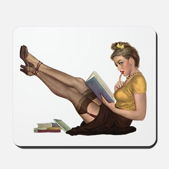 Librarian Girl Mousepad