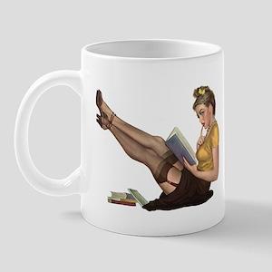 Librarian Girl Mug